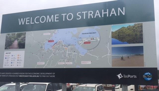 Strahan sign TasPorts & Council