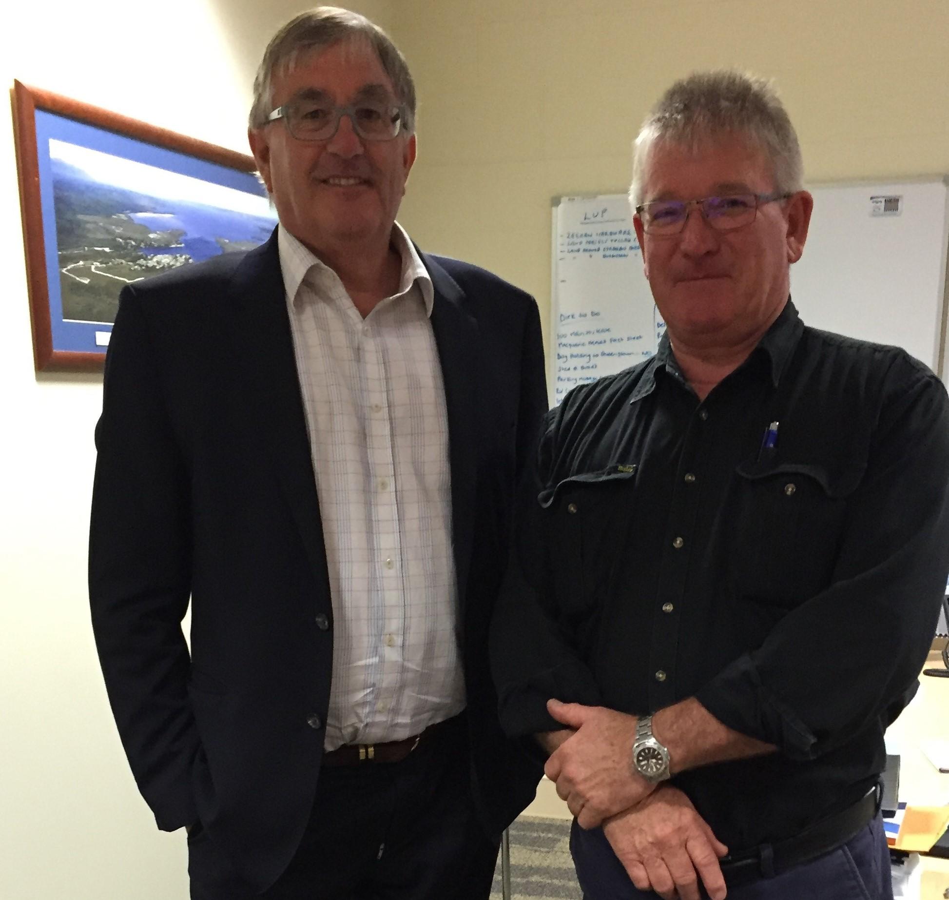 Mayor & Rene Hidding Jan 2017